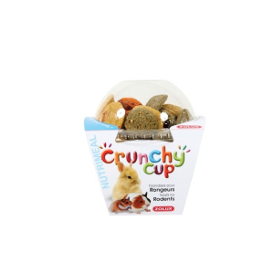 Crunchy Cup Candy Nature, Carotte, Luzerne 200 g Zolux - Friandise pour rongeurs