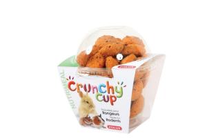 Crunchy Cup Candy Carotte et Lin 200 g Zolux - Friandise pour rongeurs