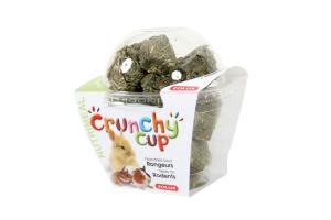 Crunchy Cup Blocs Luzerne et Carottes 200 g Zolux - Friandise pour rongeurs