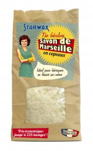 Savon de Marseille en copeaux - Starwax The Fabulous - Sachet de 750 gr