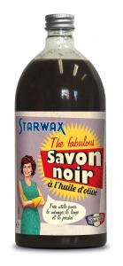 Savon noir multi-usages - Starwax The Fabulous - Flacon de 1 L