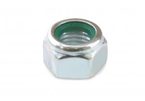 Écrou frein - En acier zingué - M12 - 1 kg soit 70 pièces