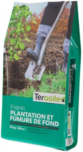 Engrais plantation et fumure de fond - Teragile - 15 kg