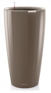 Pot Rondo D 40 kit complet - Lechuza - Taupe brillant