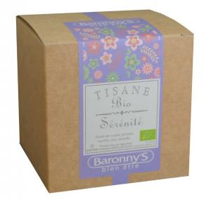 Tisane Sérénité BIO - Baronny's - 20 sachets