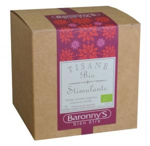 Tisane Stimulante BIO - Baronny's - 20 sachets
