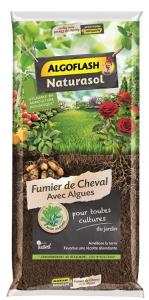 Fumier de cheval avec algues - Naturasol - Algoflash - 20 kg