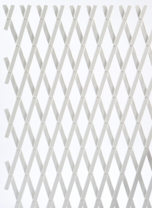 Treillage Extensible - Trelliflex blanc - 200 x 100 cm