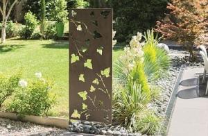 Panneau panel motifs décoratifs feuilles - Nortene - 0,60x1,50 m