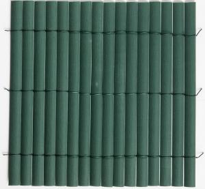 Canisse plasticane vert double face -Nortène - 1 x 3 m