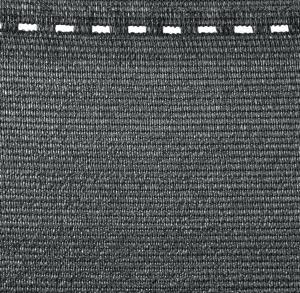 Brise vue tissé totaltex gris -Nortene - 1 x 5 m