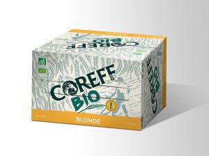 Pack de Bière Blonde Bio - COREFF - 20 x 25 cl