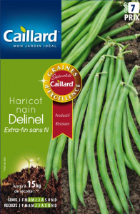 Haricot nain Extra fin Delinel - Graines - Caillard