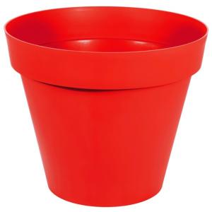 Pot - Toscane - Rond - 23 L - Rouge tomate