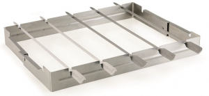 Support pour brochettes en inox - Barbecook - 35,5x26,5x4,5 cm
