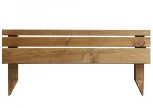 Bordure bois Douglas - SUN BOIS - Classe 3 - 90 x 45 x 2,1 cm