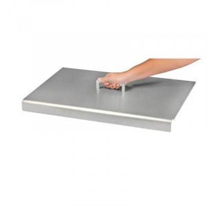 Capot pour planchas Design simple - Krampouz - inox - 43x41x9 cm