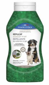 Répulsif d'extérieur en gel - Francodex- Pour chiens et chats - Flacon de 640g