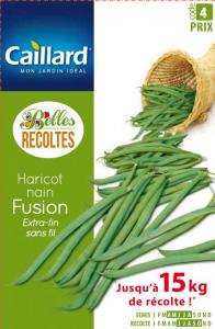 Haricot nain extra-fin sans fil Fusion - Graines - Caillard
