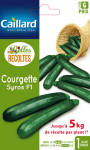 Courgette Syros hybride F1 - Graines - Caillard