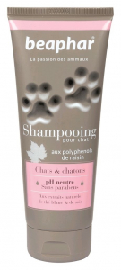 Shampooing pour chats et chatons 200 ml - Beaphar