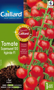 Tomate supersweet 100 hybride F1 - Caillard