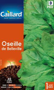 Oseille de Belleville - Graines - Caillard