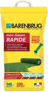 Gazon renovation rapide - Barenbrug - 5kg