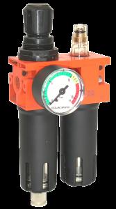Ensemble filtre régulateur lubrificateur 1-4 - LACME