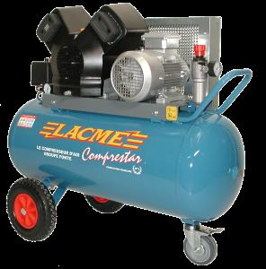 Compresseur à courroie triphasé - LACME - 24 V 100 T