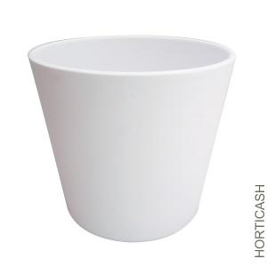 Cache pot Fresh - Horticash - blanc - Ø 18 cm