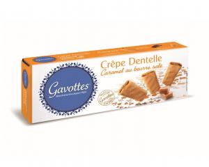 Crêpe dentelle Caramel au beurre salé - GAVOTTES - 60 g