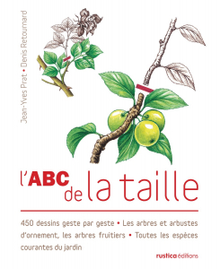 L'ABC de la taille - Livre jardin