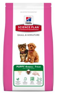 Aliment chien Science Plan Canine Puppy Small and Miniature au Poulet - Hill's - 1,5 Kg