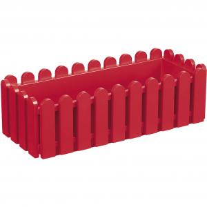 Jardinière rouge Landhaus EMSA - 50 x 20 x 16 cm