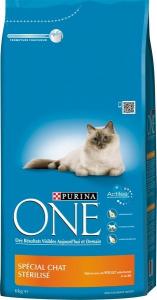 Croquette spécial chat stérilisé - Purina One - poulet - 6 kg