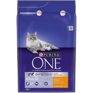 Croquette pour chat adulte Bifensis Dual Defense - Purina One - Poulet - 3 kg