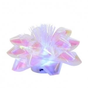 Nœud - LED - couleurs changeantes - 9,5x9,5x6 cm