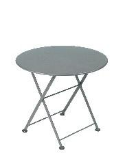 Table Bistro - Tom Pouce - Gris orage -Diamètre 55 cm