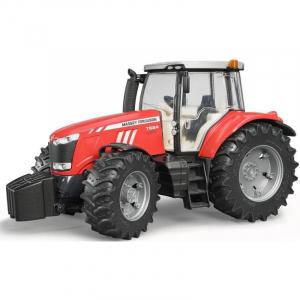 Tracteur Massey Ferguson 7600 avec Fourche - Brader - 116