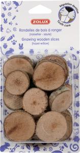 Rondelles de bois à ronger - Zolux