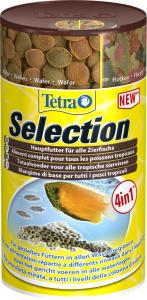 Tetra selection 100 ml - Aliment complet pour poissons tropicaux