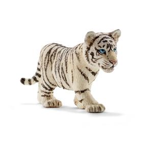 Figurine bébé Tigre blanc - Schleich - 6.8 x 2.3 x 3.2 cm