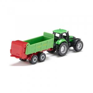 Tracteur Deutz + épandeur Strautmann - Siku - 1/64