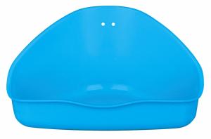 Toilette d'angle - Trixie - GM - Bleu