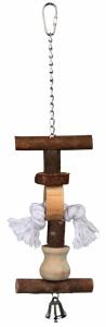 Jouet pour oiseau - Trixie - Avec clochette -38 cm