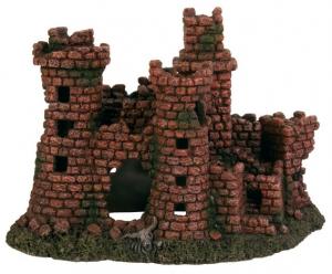 Décor château en ruine pour aquarium - Trixie - 27 cm
