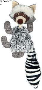 Peluche raton laveur  - Trixie - Avec son - 21 cm