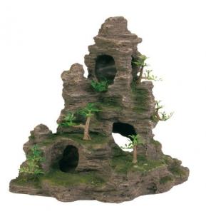 Décor rocher grotte - Trixie - Pour aquarium - 31 cm