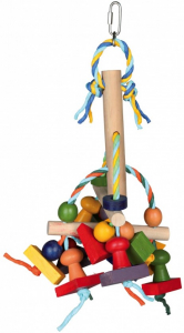 Jouet en bois multicolore - Trixie - 31 cm